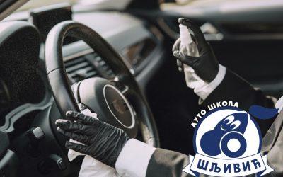 Šljivić doo redovno vrši dezinfekciju svojih vozila